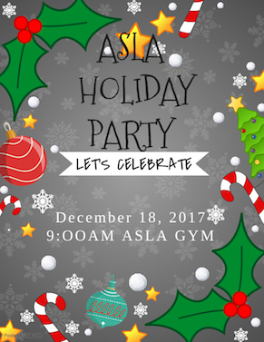 ASLA Holiday Party