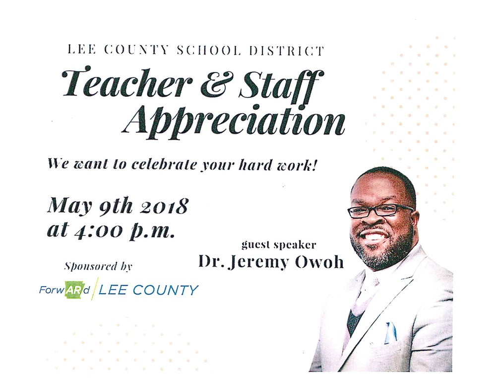 Teacher & Staff Appreciation