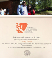 Influential Educator Day at Arkansas Governor's School on July 12, 2018
