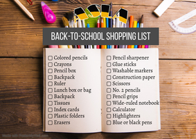 ASLA School Supply List 20-21