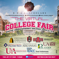 """Virtual College Fair"" for the Senior Scholars at LHS on October 27th from 10am-11:30am."
